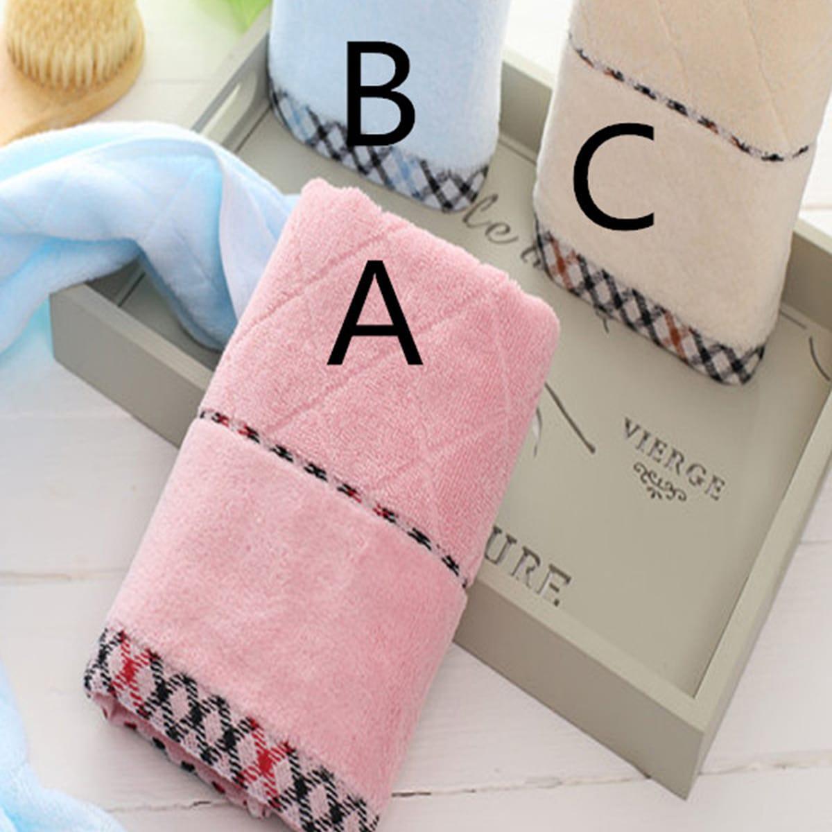 Handdoek met geometrische print van 1 st