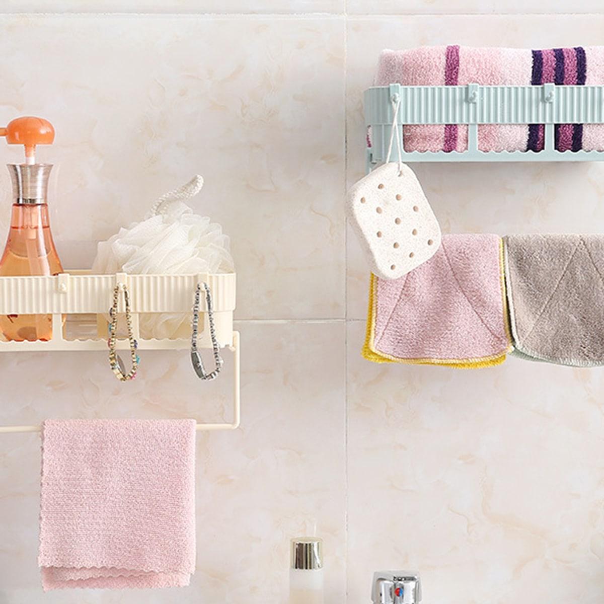 Wandrek voor wandmontage in badkamer