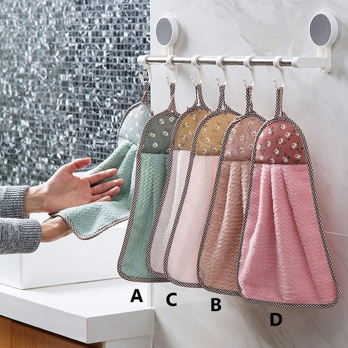 1pc bloemenprint handdoek