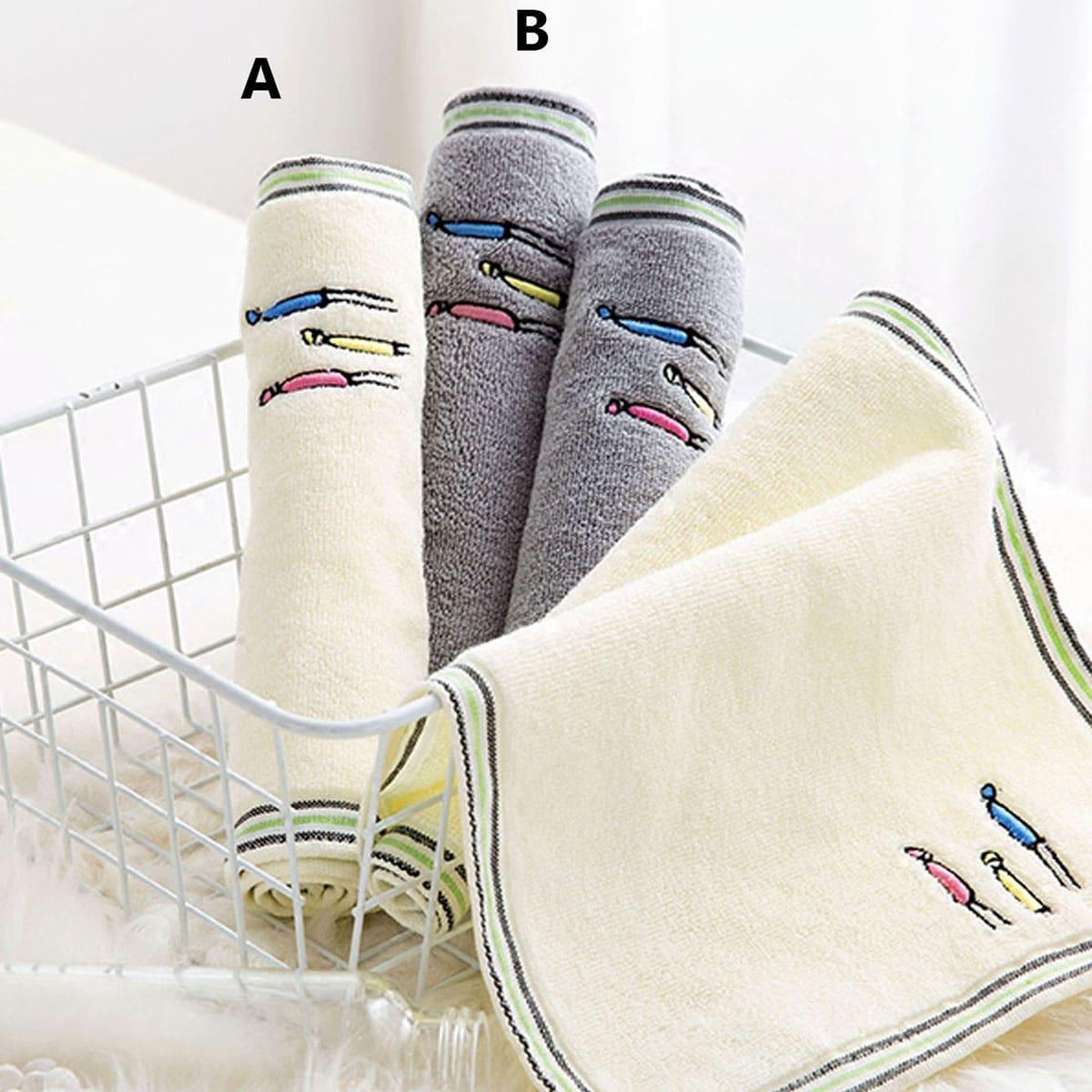 1pc figuur afdrukken badhanddoek