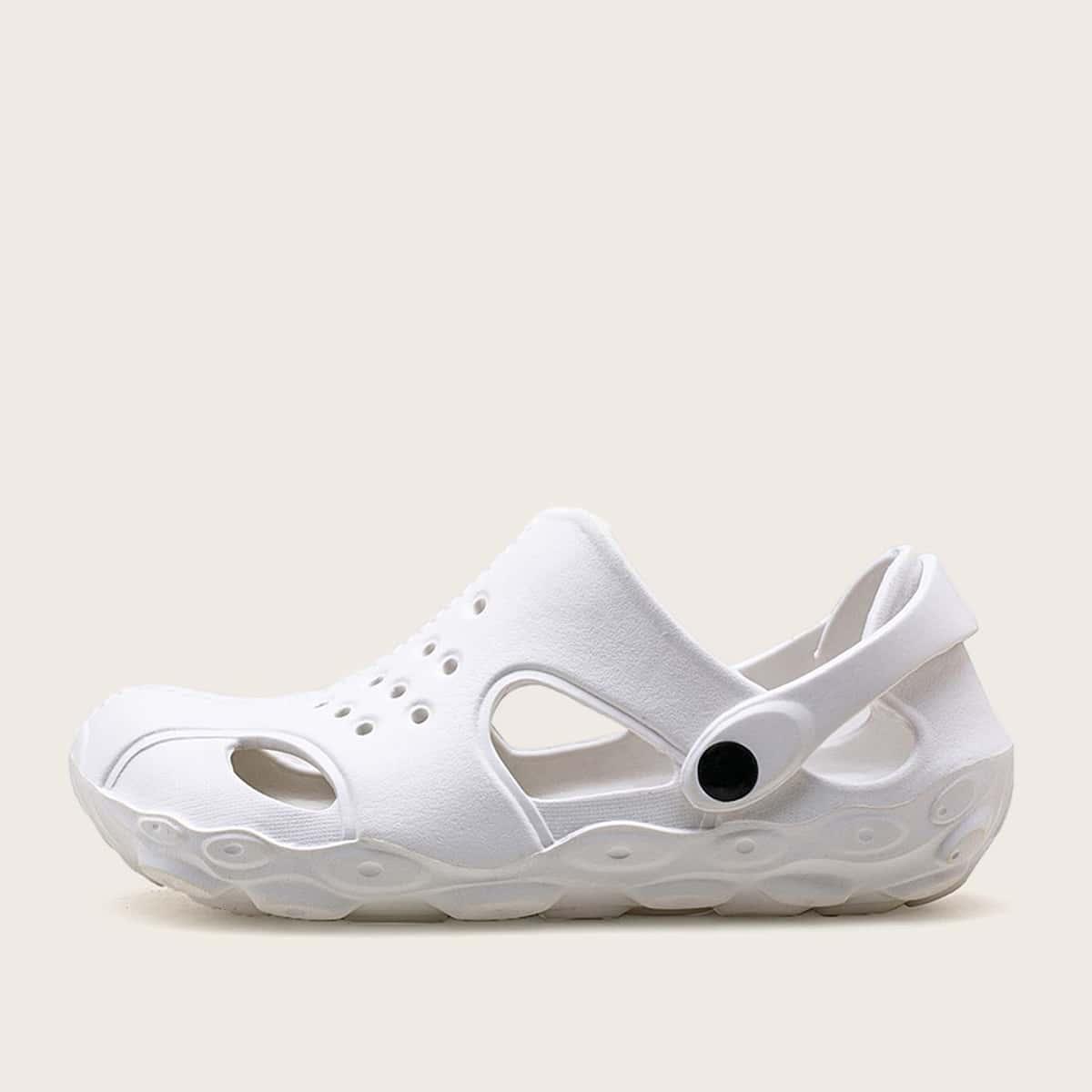 Platte sandalen voor heren