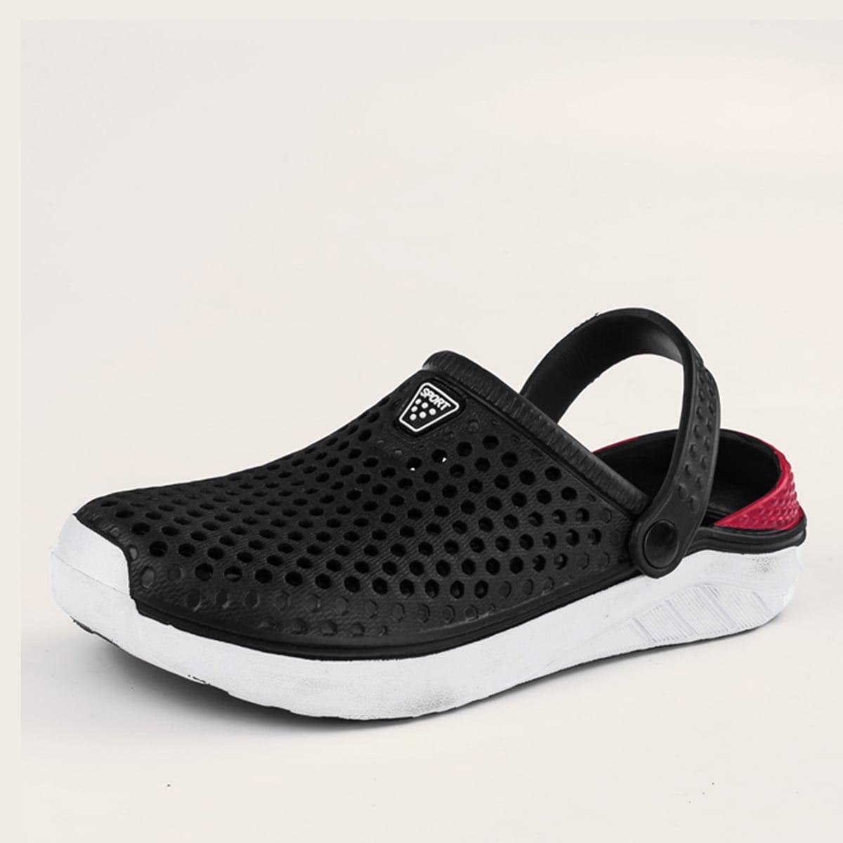 Wijde sandalen met wijde pasvorm