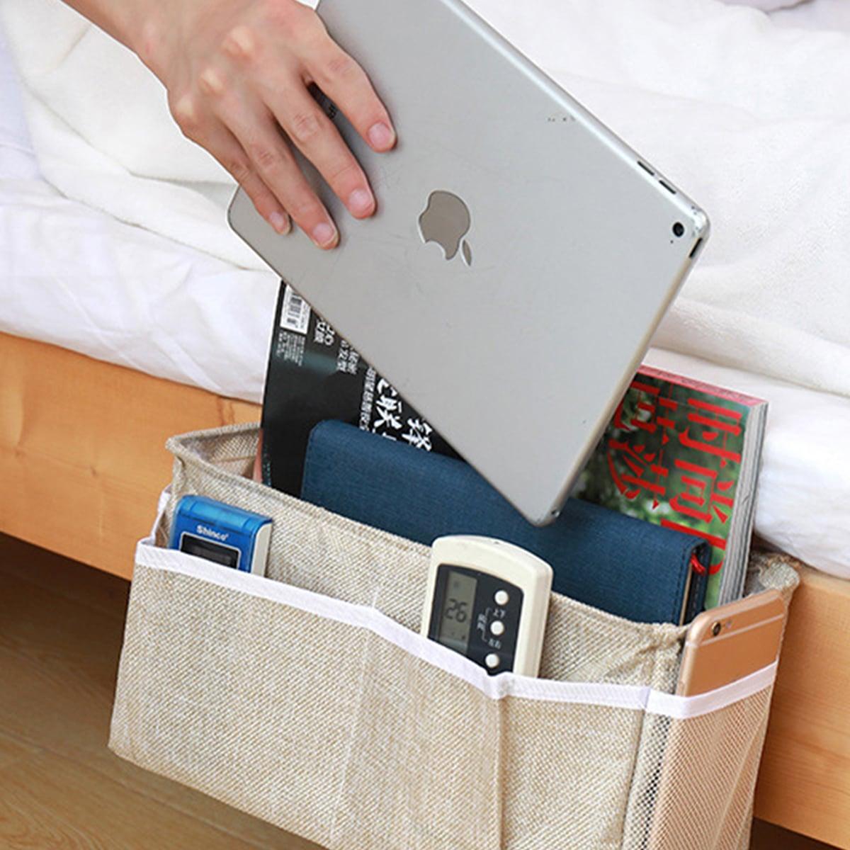1pc hangende opbergtas bij het bed