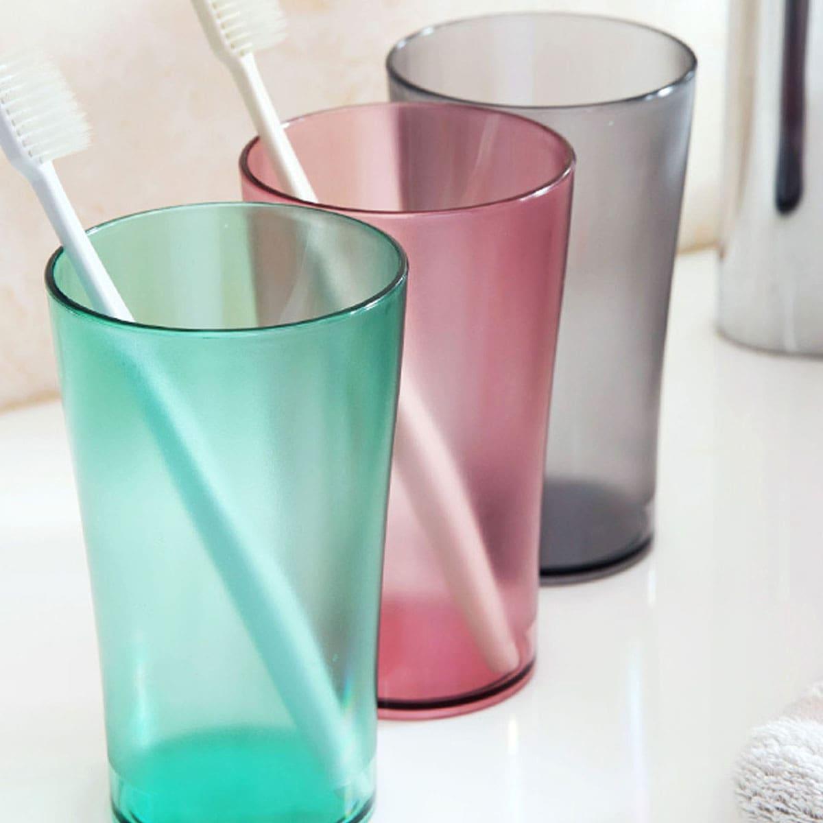 1 st Plastic Willekeurige Tandenborstel Cup