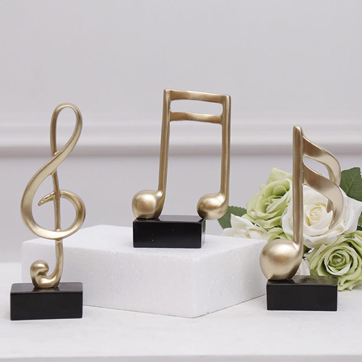 1 st muzieknoot decoratief object