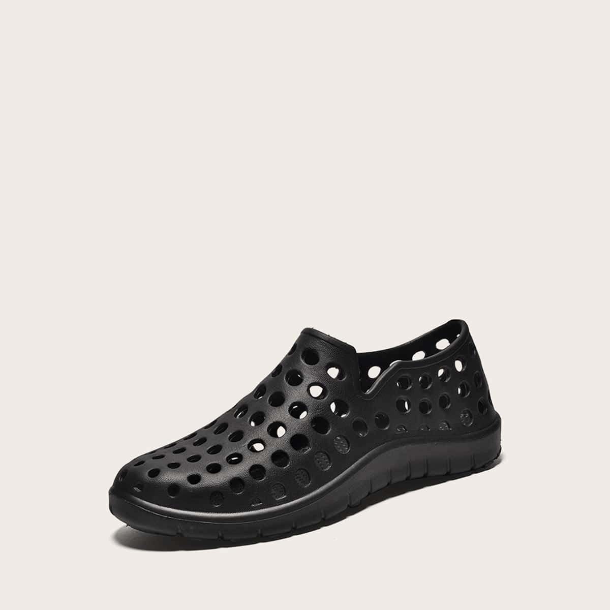 Minimalistische holle sandalen voor heren