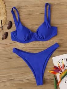 Underwire | Swimsuit | Bikini | High | Cut