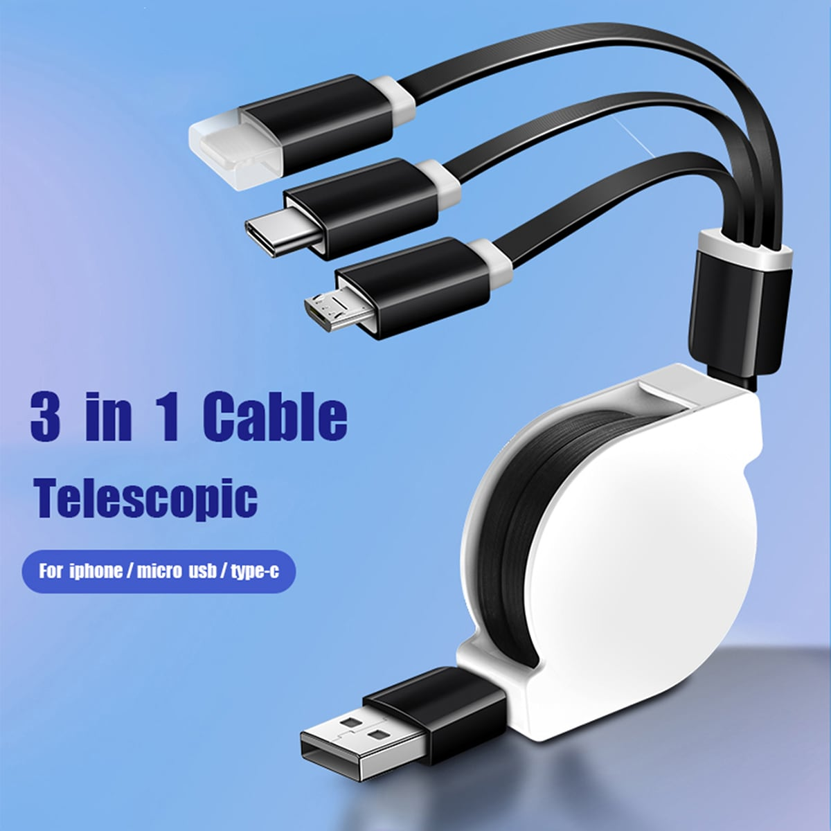 Tech-accessoires Telefoonkabel