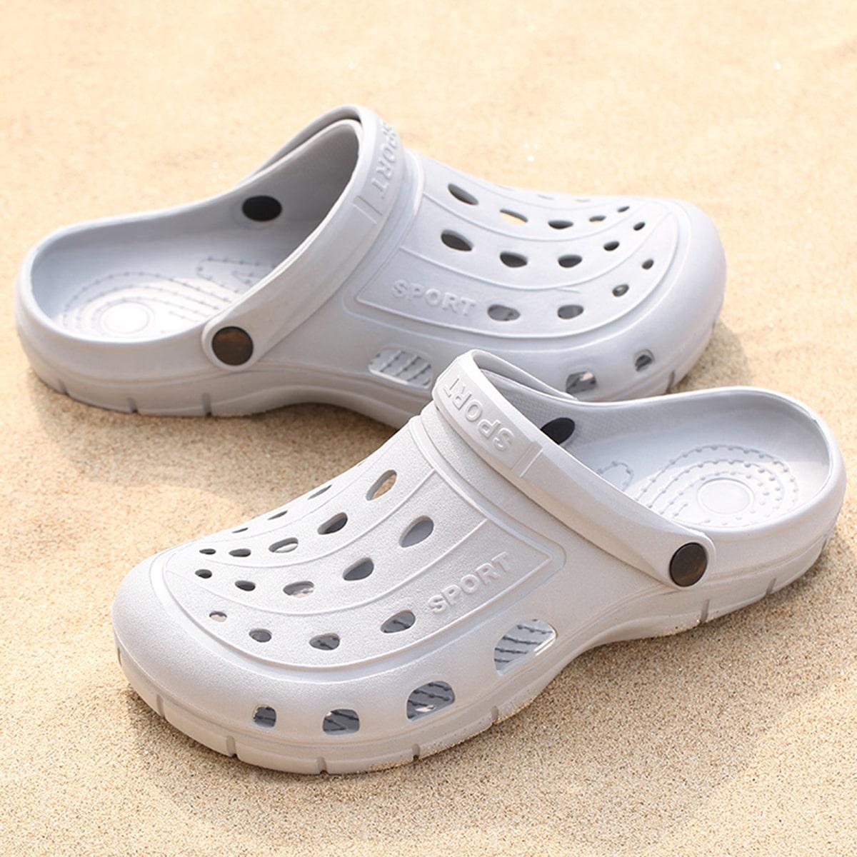 Heren Uitglijden Slip On Sandals