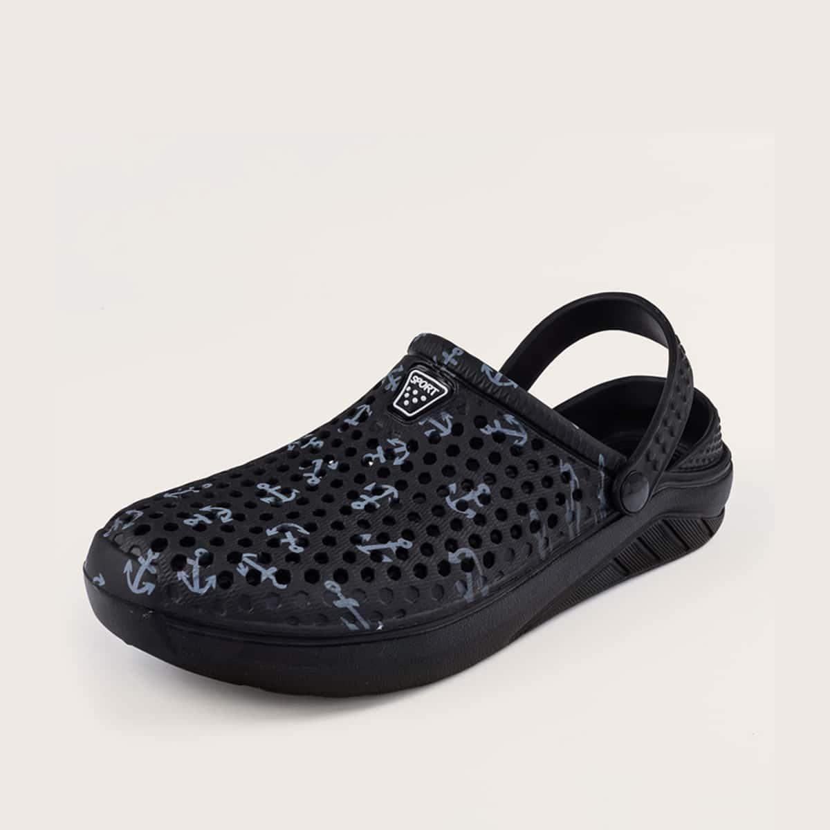 Slingback sandalen voor heren