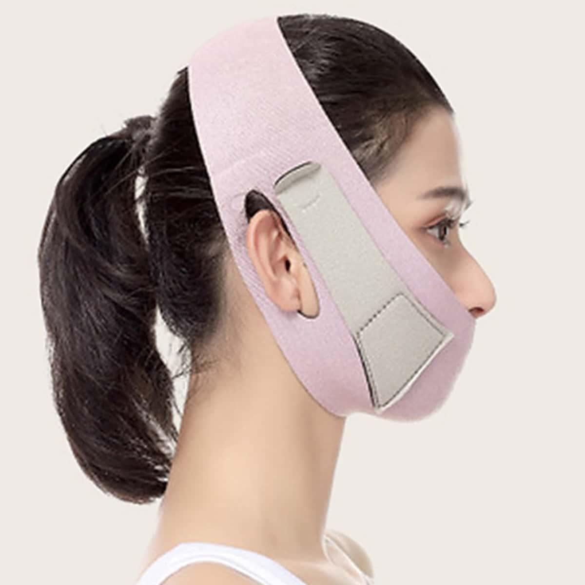 Dunne gezichtsmasker afslankend verband