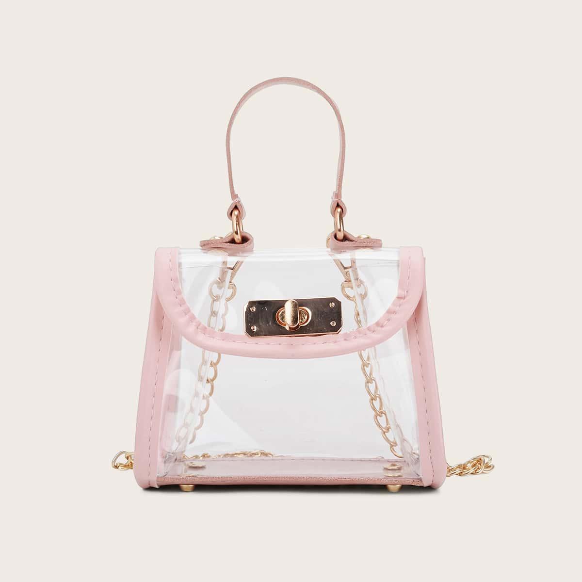 Duidelijke tas voor meisjes