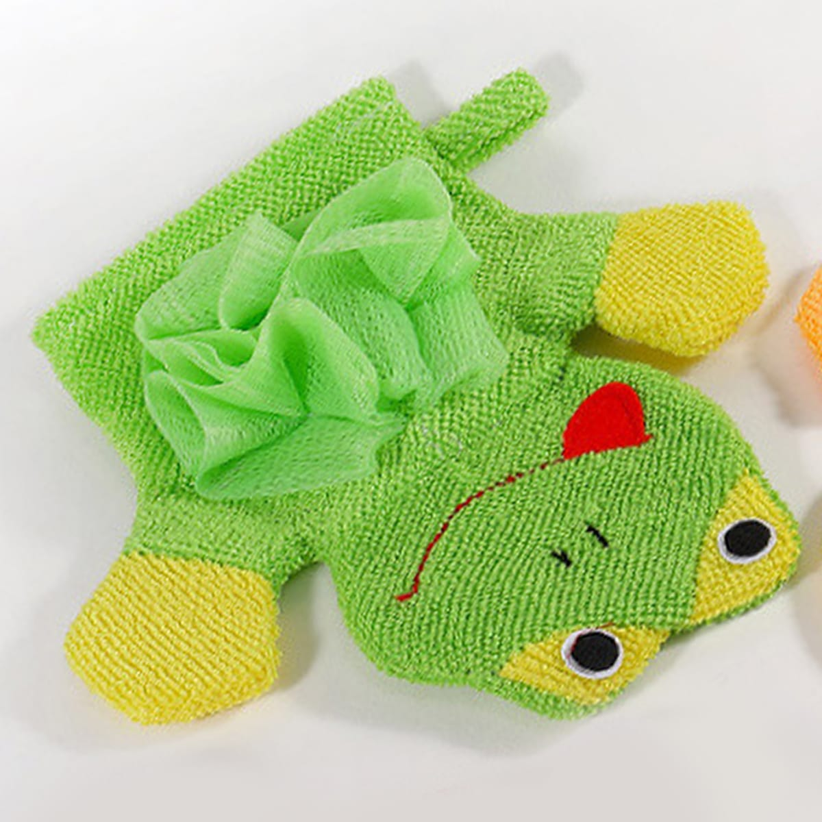 Frog Design Foaming Net Glove