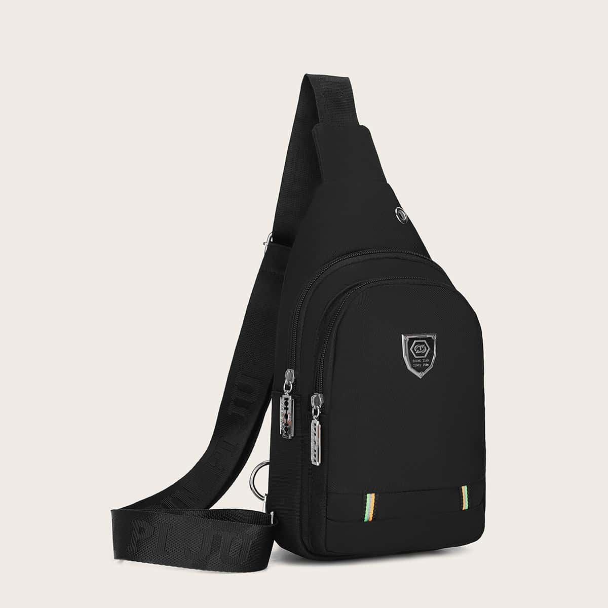 Sling Bag voor heren met patch