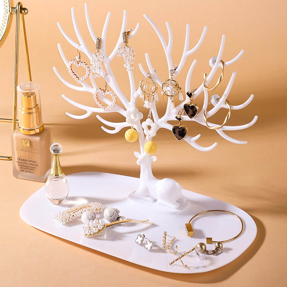 1pc gewei vormige sieraden Display houder