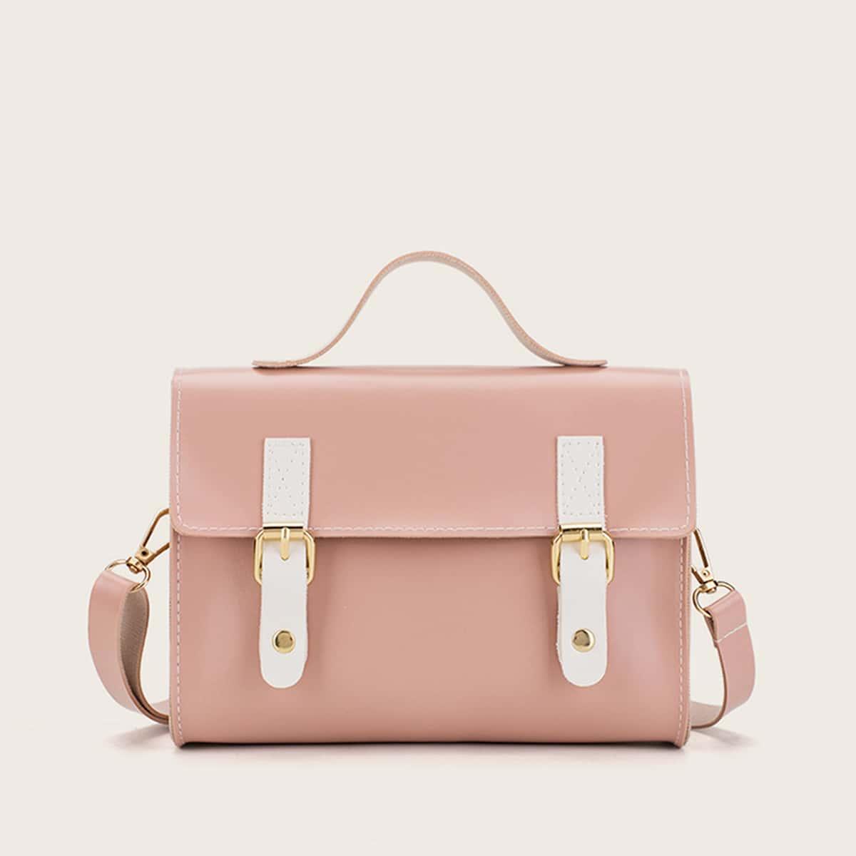 Satchel tas met gesp voor meisjes