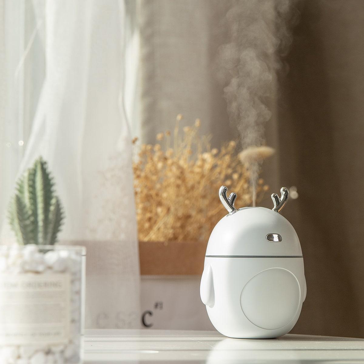 Gewei decoratie luchtbevochtiger met LED-licht