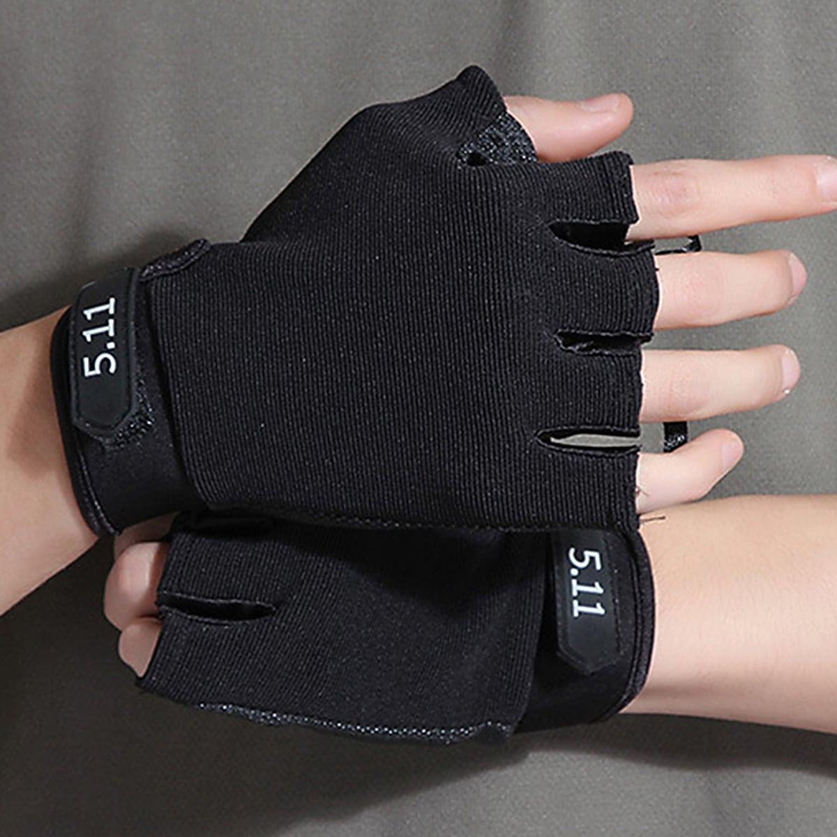 1 paar Nummerpatroon Vingerloze handschoenen