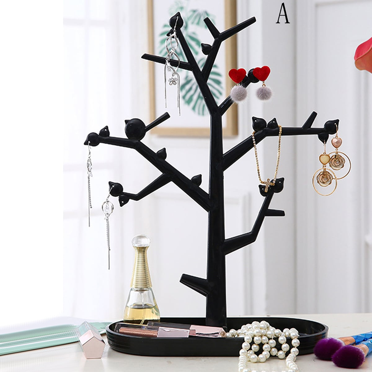 1 st boomvormig sieraden opbergrek
