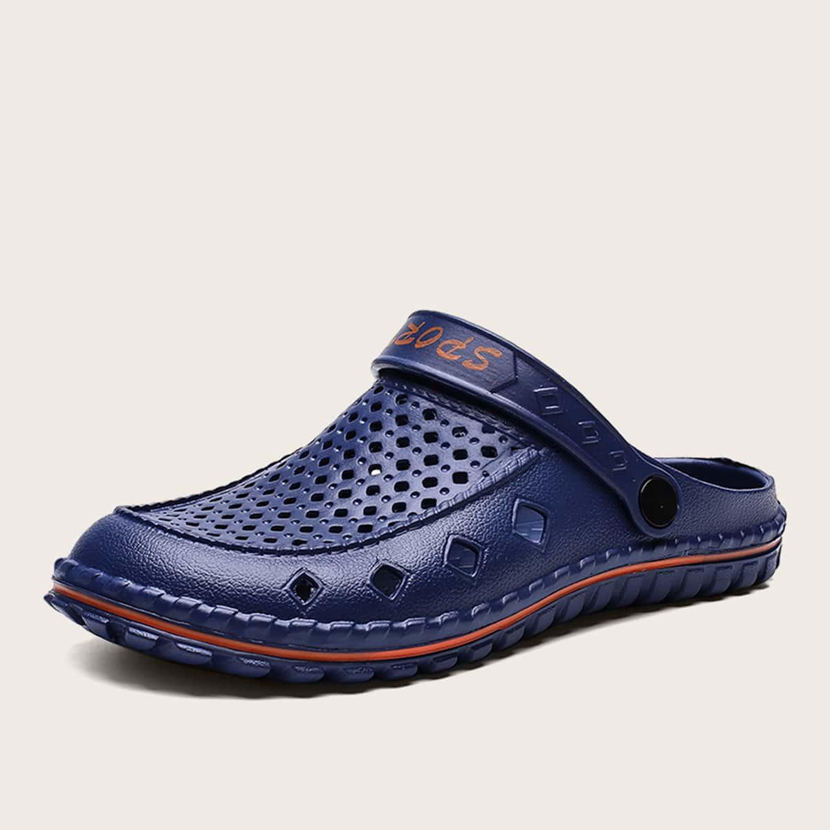 Heren Holle antislip sandalen