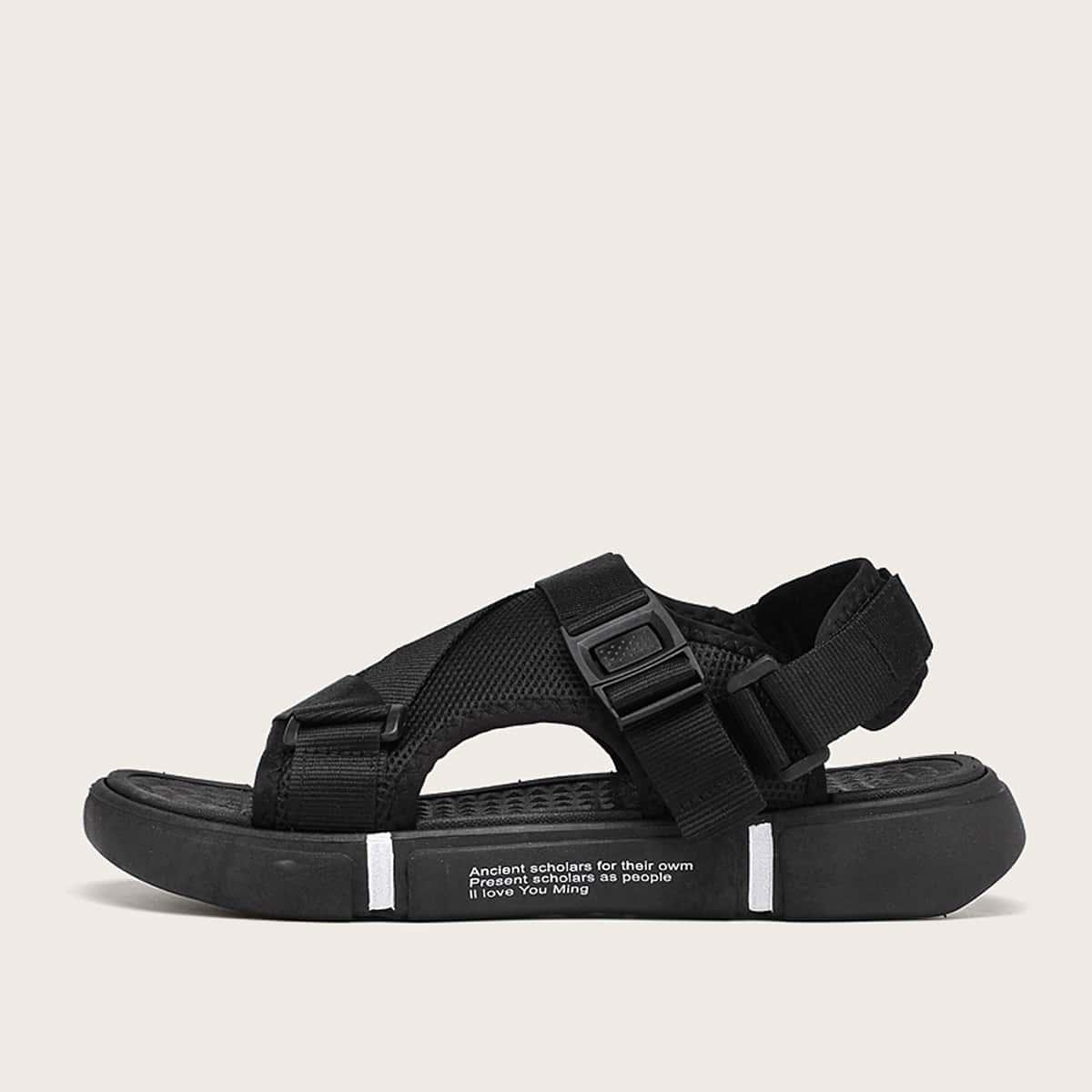 Sandalen met dikke zolen voor heren
