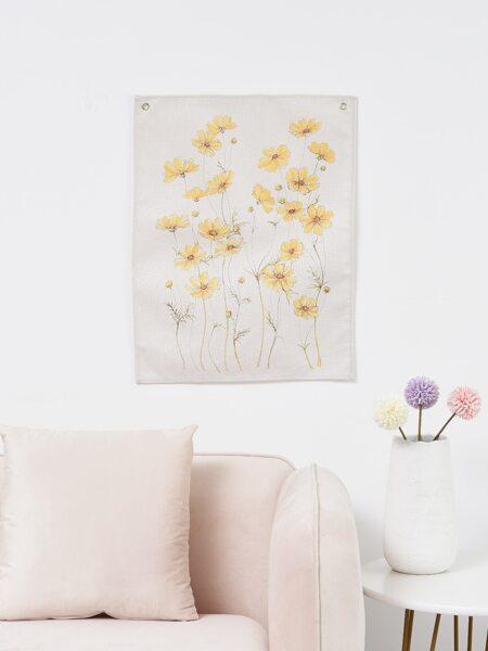 Flower Print Tapestry