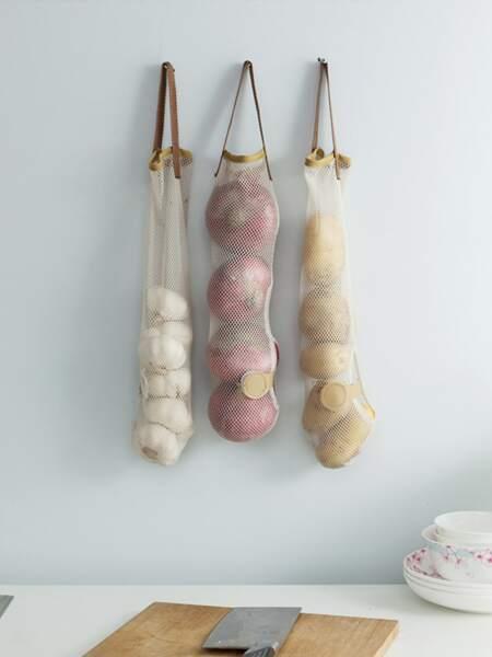 1pc Kitchen Storage Net Bag