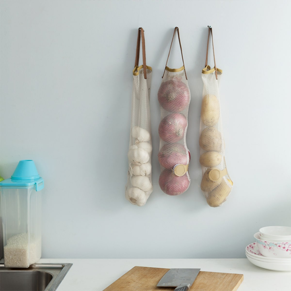 SHEIN / 1pc Kitchen Storage Net Bag