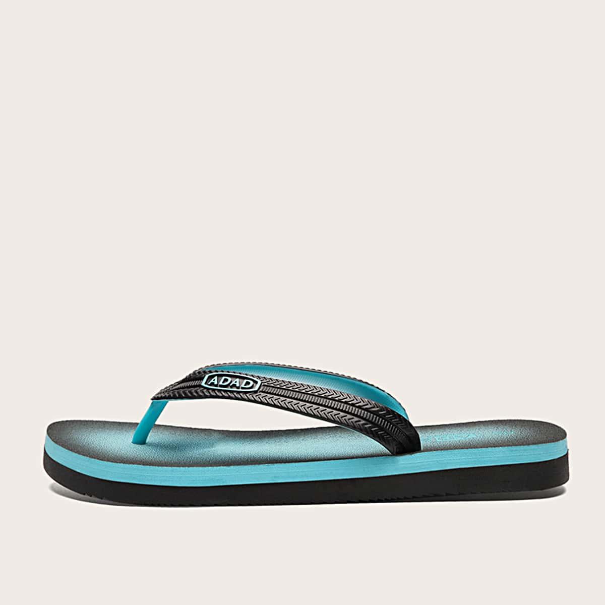 Ombre Wide Fit Flip Flops