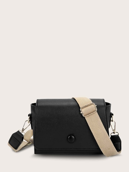 Minimalist Flap Crossbody Bag