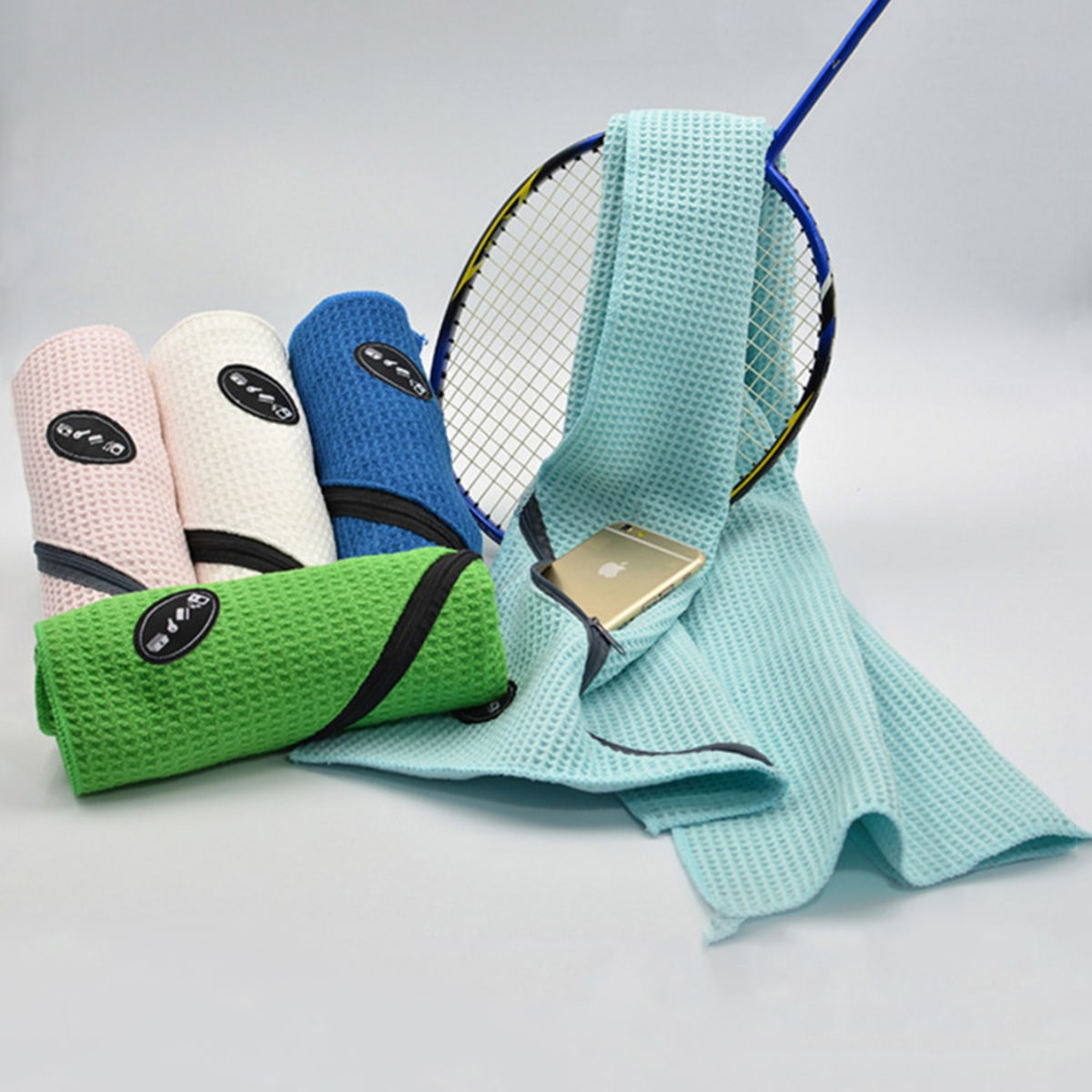 1 st sport absorberende handdoek