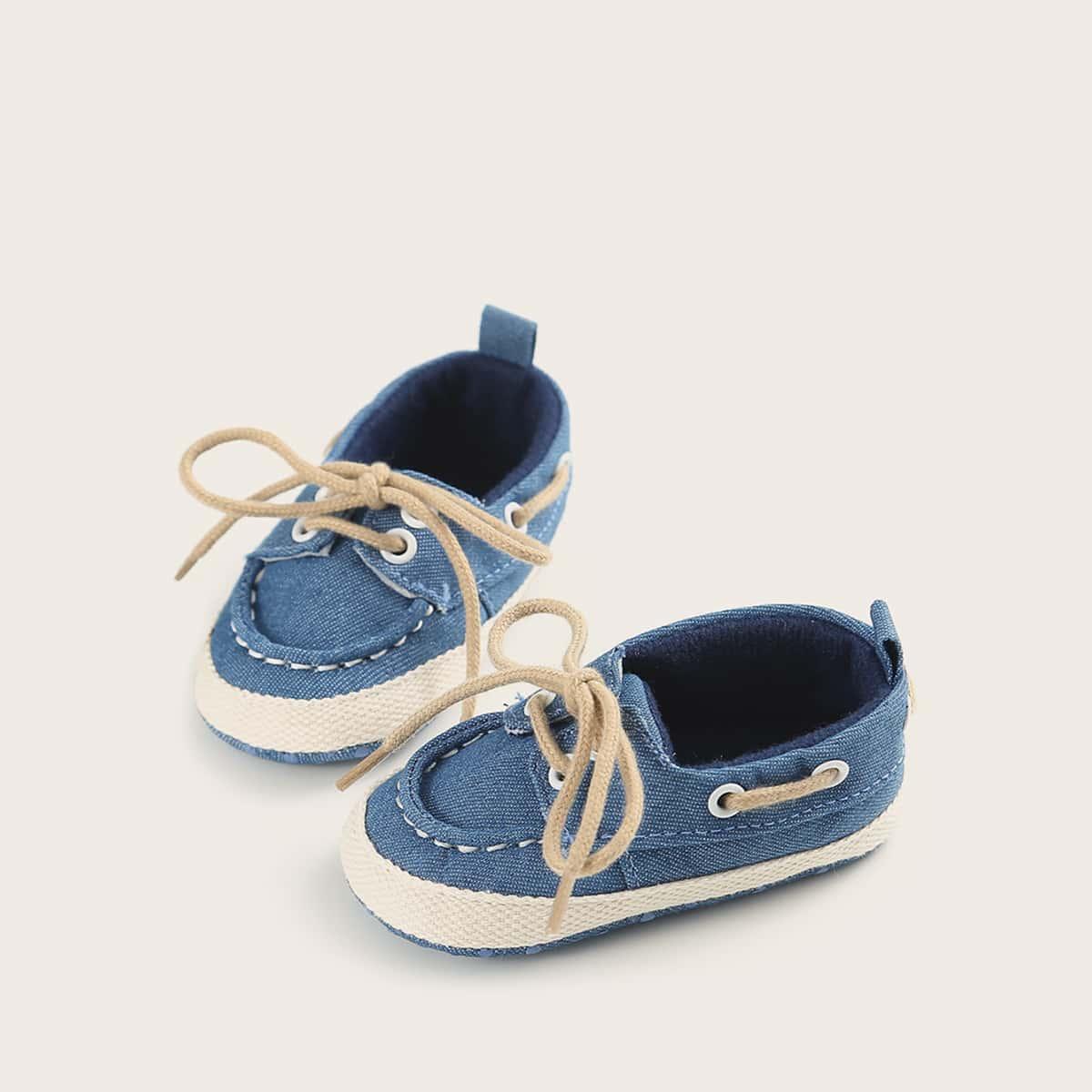 Балетки на шнуровках для девочек от SHEIN