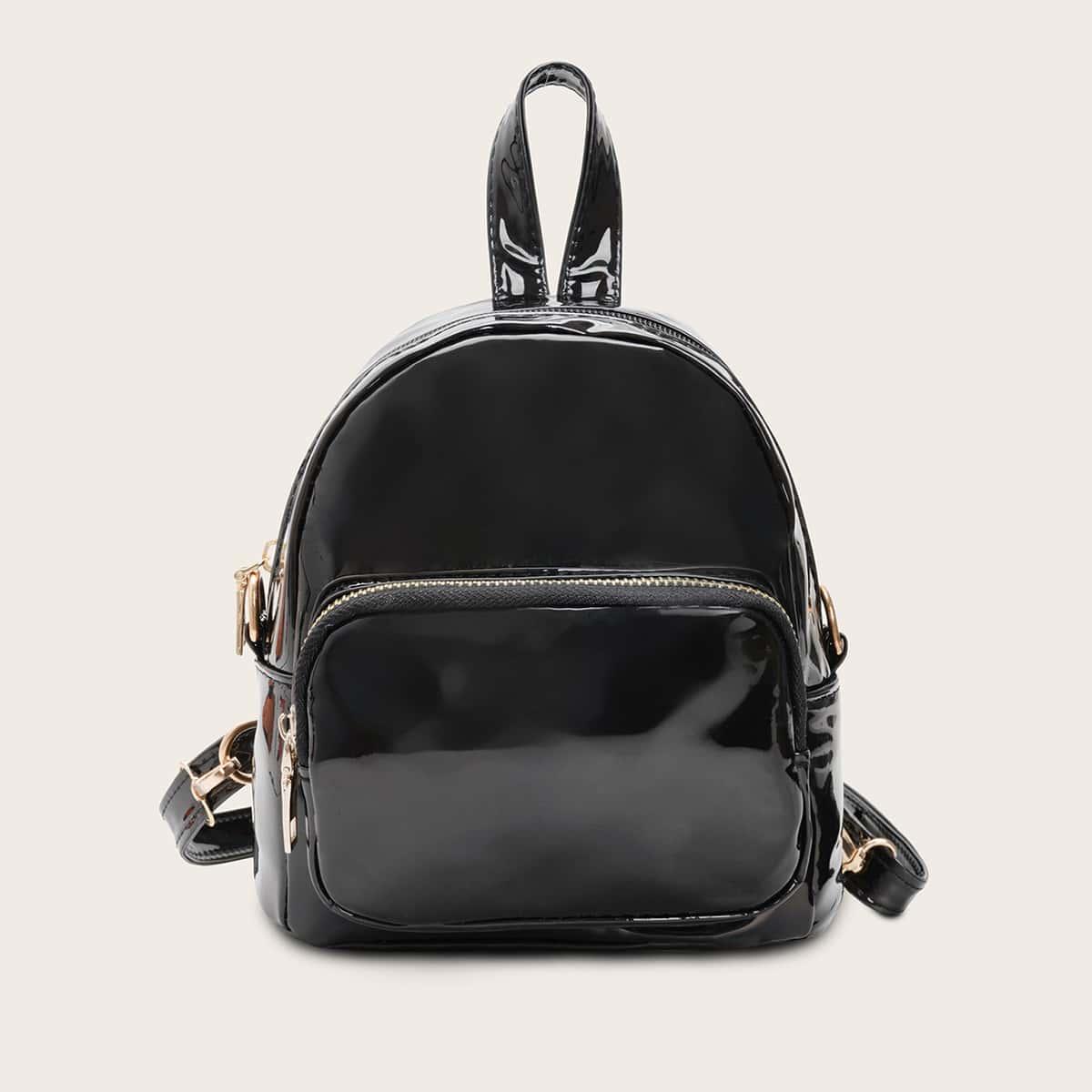Satchel tas met patent voor meisjes