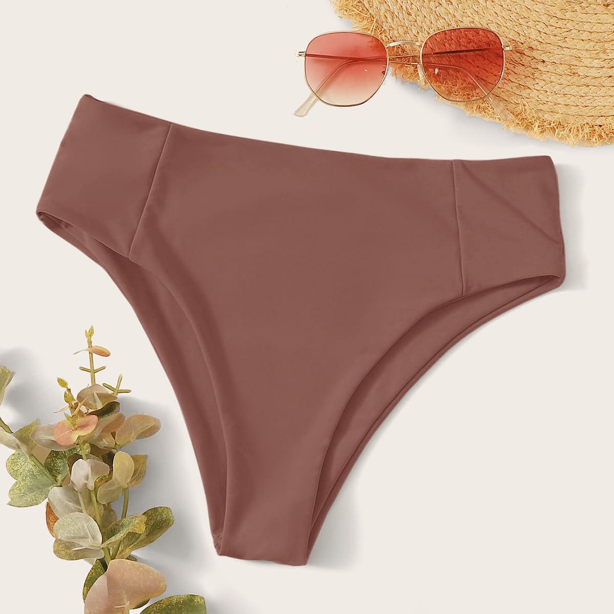 shein Hoog getailleerde bikinipanty