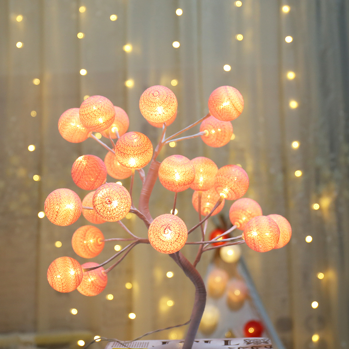 24 stks Bulb Tree Shaped Light