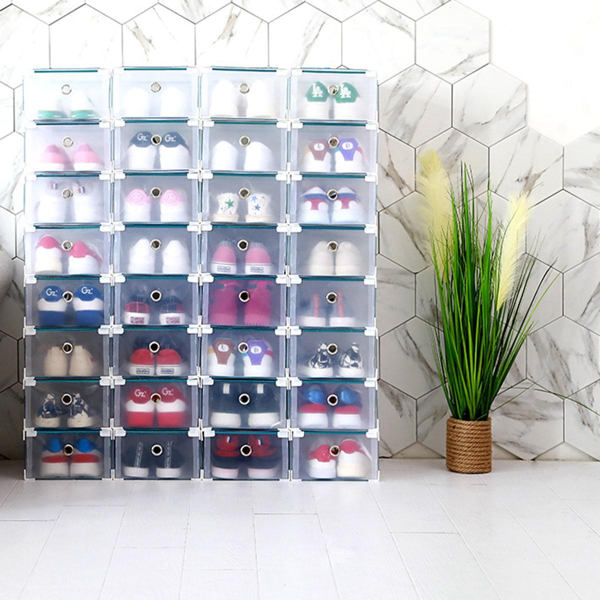 1pc duidelijke schoenen opbergdoos