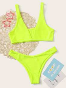 Swimsuit | Bikini | Green | Neon