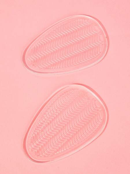 1pair Clear Foot Protection Pad