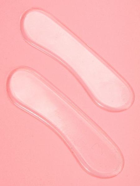 1pair Transparent Heel Protection Pad