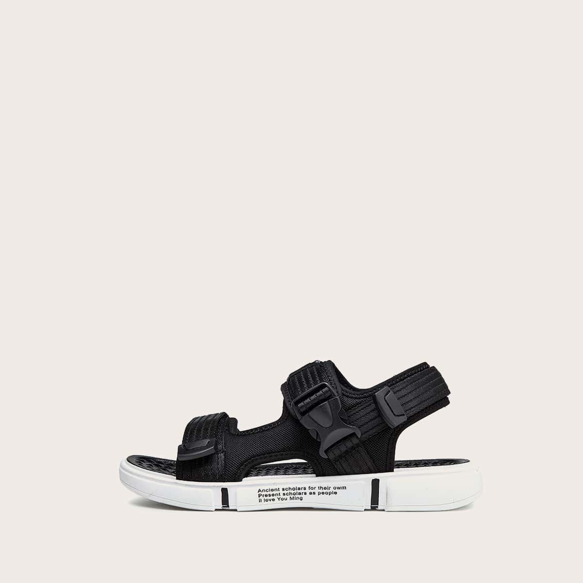 Sandalen met gesp voor heren
