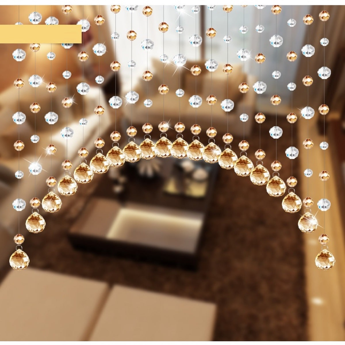 1pc DIY Crystal Bead Curtain