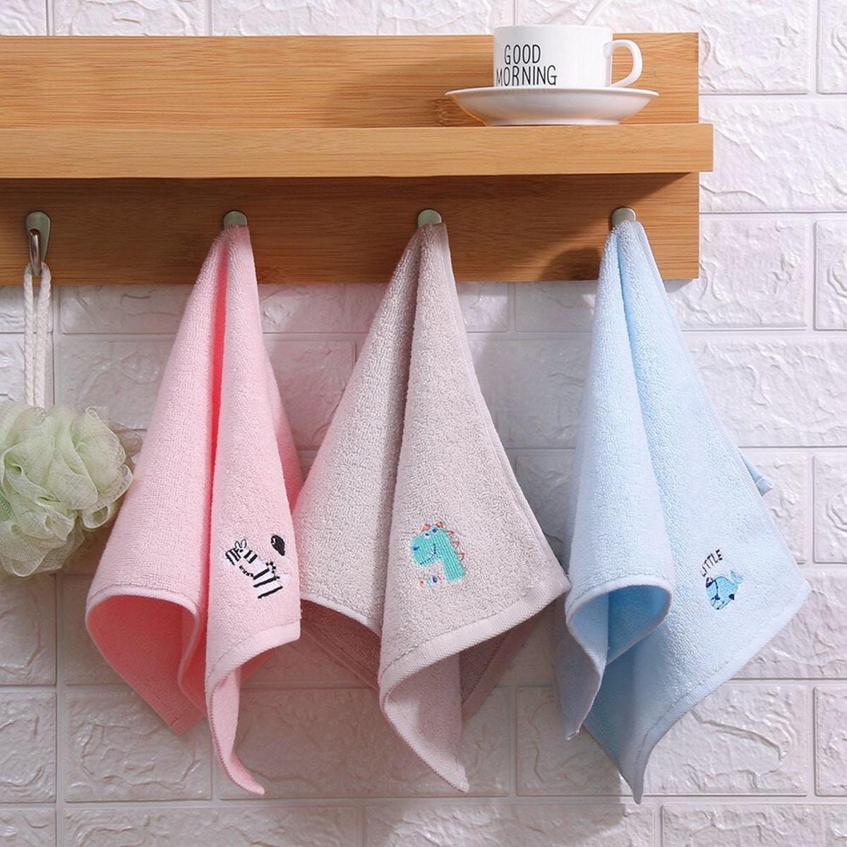 1pc Cartoon grafische handdoek