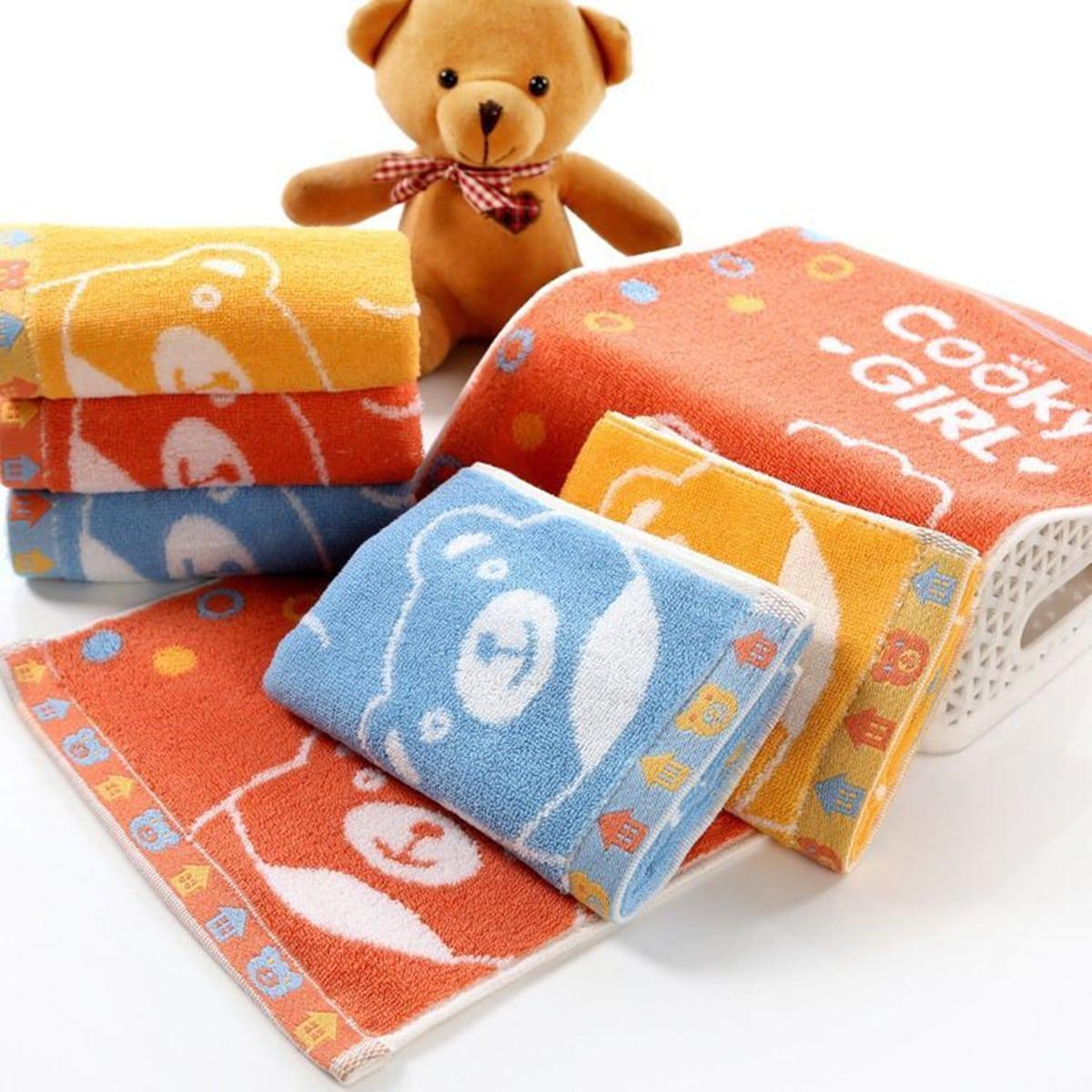 1pc Bear Print Handdoek