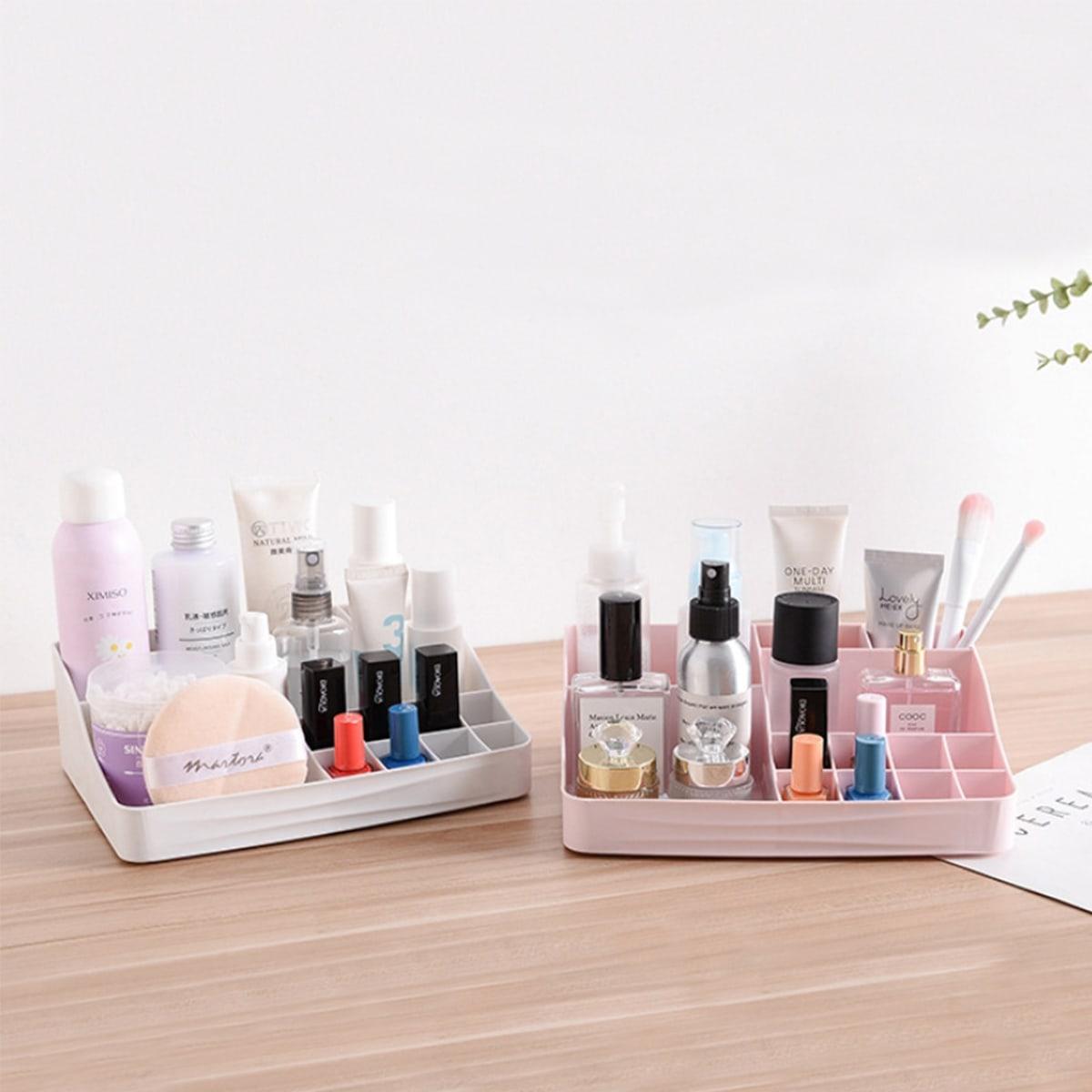 1pc Multi-grid gewone cosmetische opbergdoos