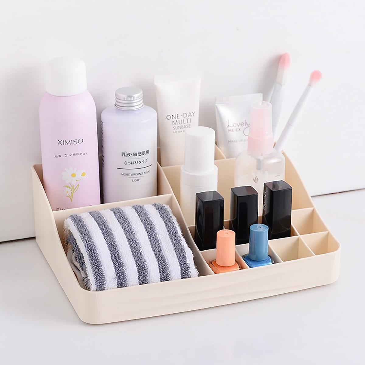 1pc cosmetische opbergdoos met meerdere compartimenten