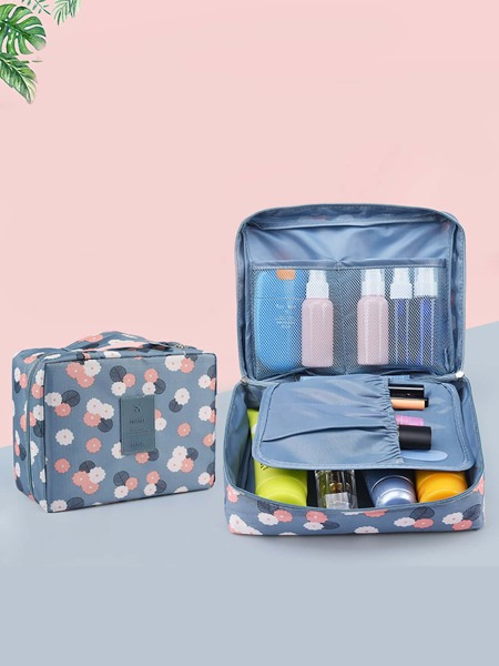 1pc Cosmetic Travel Storage Box