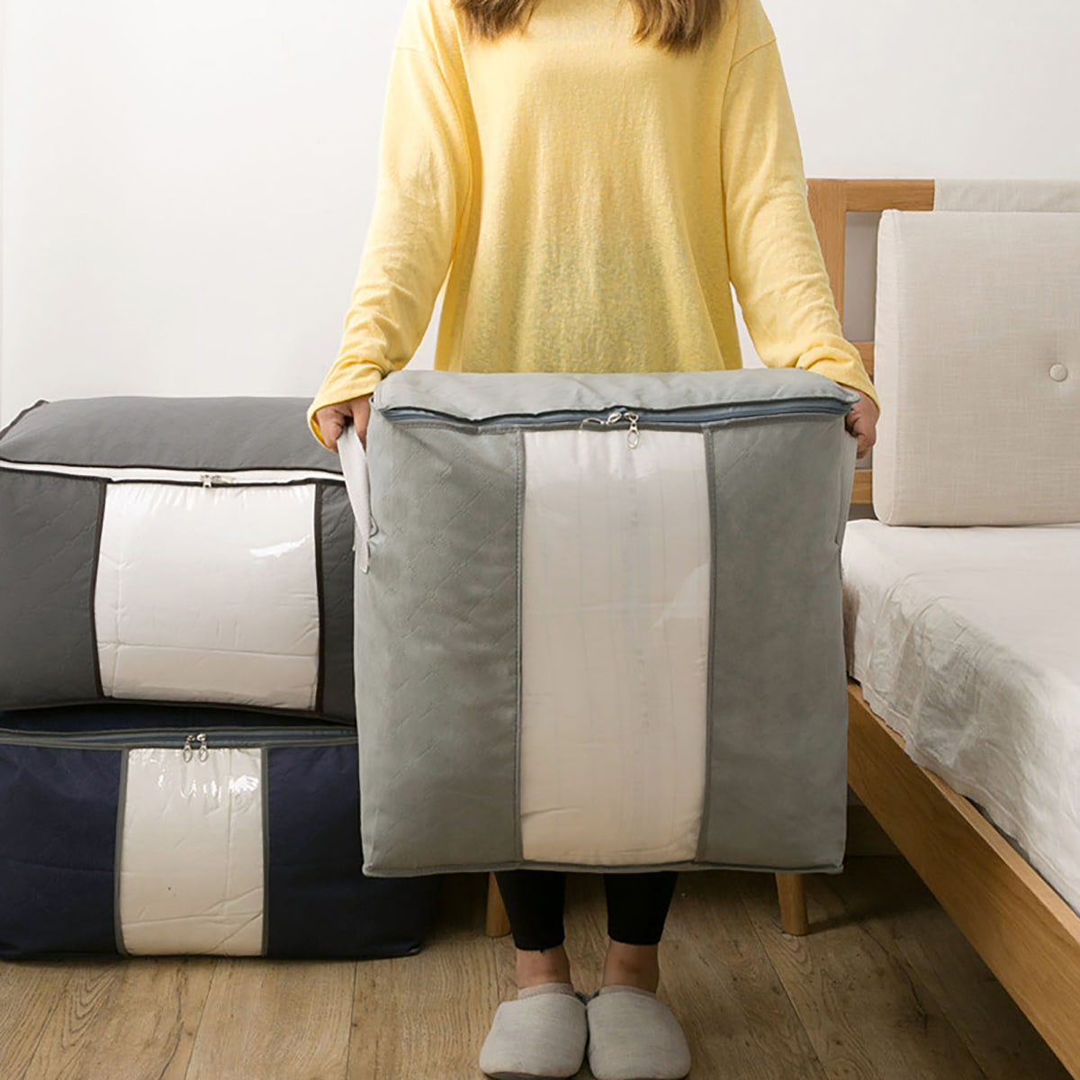 1pc grote kleding opbergtas
