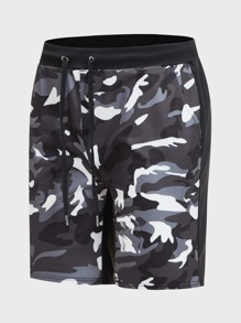 Drawstring | Short | Camo | Men