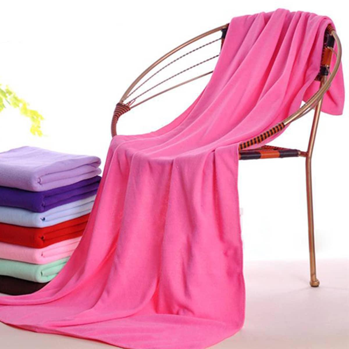 1pc willekeurige kleur badhanddoek