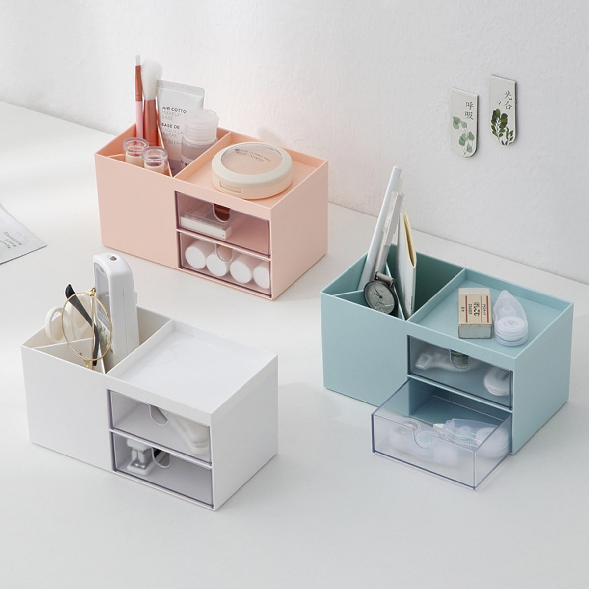 1pc Multi-grid Desktop Storage Box
